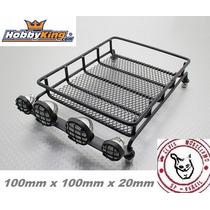 Rack Teto C/ Led 4 - Metal - Hk - 100mm X 100mm - Crawler