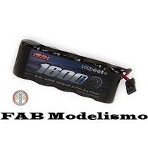 Bateria Pack Para Receptor Revo 6v Flat 1600mah Nimh