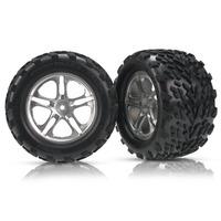 Trax 5174 Revo - Roda E Pneu Montados (par)
