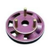 Flywheel Aluminio Ventilado 3 Sapatas Para Motor Traxxas 3.3