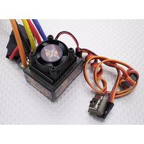 Esc Brushless 120a X-car Sensorado E Sensorles - Fúria Hobby