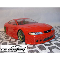 Bolha Transparente Ford Mustang Gt 99 On-road 1/10 R1003 Bo