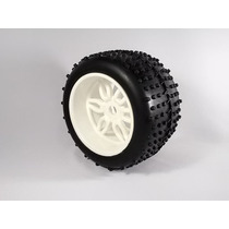 Par Pneus C/ Rodas 1/8 Off Road Sintec Rc Savage, Revo S095