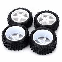 Jogo 4 Rodas/pneus Sintec Road Para Buggys 1/10 -e-revo 1/16