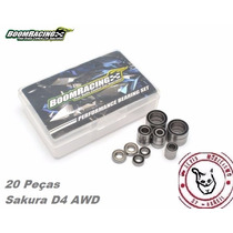 Kit Rolamento 20 Peças Sakura D4 Awd 1/10 - Boom Racing