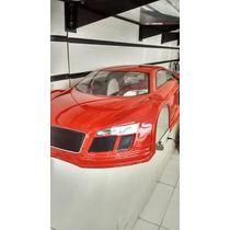 Bolha Audi R8 Pintada P/ Inferno Gt2 Kyosho
