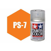 Spray Tamiya Ps-7 Orange 3oz Polycarbonate 86007