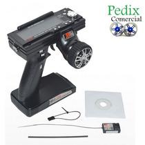 63004 Rádio Controle Flysky Fs-gt3b 2.4ghz 3ch Digital + Rec