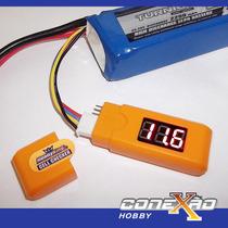 Cell Checker Verificador De Voltagem De Baterias Lipo 2 A 6s
