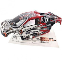 Bolha Truggy Hpi Trophy 4.6 Trimmed Painted Red Hpi101780