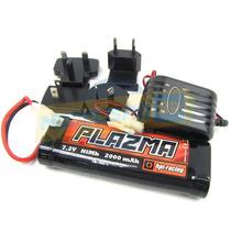 Hpi Racing Bateria Plazma 7.2v 2000mah Nimh C/ Carregador
