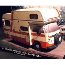 Papel Modelismo 3d - Veículos - Vw Kombi - Safari