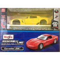 Kit Para Montar Corvette Z06 1:24 Maisto - Promoção