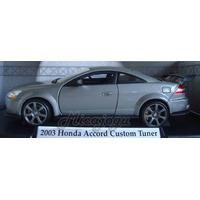 Honda Accord Custom Tuner 2003 1/18 Motor Max Gm Ford Lindo