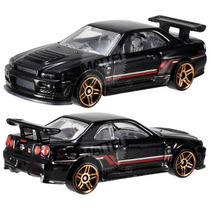 Hot Wheels 2014, Then And Now, Nissan Skyline Gt-r R34