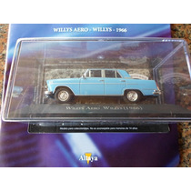 Miniatura Willys Aero Willys 1966 Carros Inesqueciveis Ed 46
