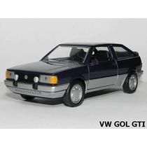 Gol Gti 1989 Miniatura Carro Classicos Nacionais
