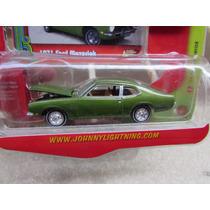 Johnny Lightning 1971 Maverick Grabber Verde Lacrado