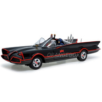 Batmóvel 1966 Batman & Robin Hot Wheels Elite 1:18 Bcj95