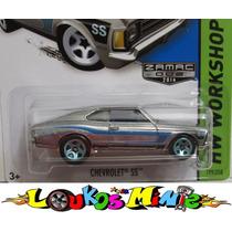 Hot Wheels Opala Ss Zamac Chevrolet Ss Lacrado 1:64