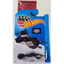 Bat-pod - Moto Do Batman - Hot Wheels 2014