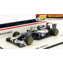 1:43 Bruno Senna Williams Fw34 Showcar Formula 1 2012