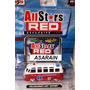 Vw Kombi Fire Maisto All Stars Red - 1/64