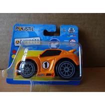 Miniatura Tunada - 1:64 - Polistil Car City - Laranja