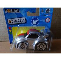 Miniatura Tunada - 1:64 - Polistil Car City - Prata