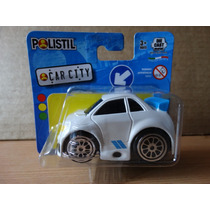 Miniatura Tunada - 1:64 - Polistil Car City - Branco Lacrado