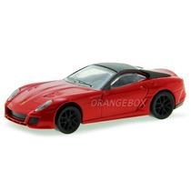 Ferrari 599 Gto Hot Wheels 1:43 Vermelho X5535