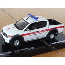 Mitsubishi L200 1/43 Hilux 1/43 Triton 1/43 L200 Viatura 1/4