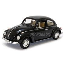 Volkswagen Fusca 1:24 Welly 22091h-preto