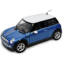 Mini Cooper 1:18 Motormax Carros Miniaturas Réplicas Coleção