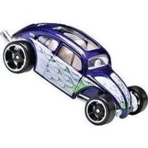 Hot Wheels Custom Volkswagen Beetle, Variação Roxa De 2009