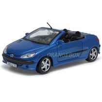 Peugeot 206cc 1:24 Maisto 31972-azul