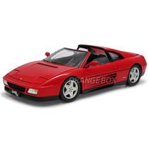 Ferrari 348 Ts 1:18 Hot Wheels Elite X5480