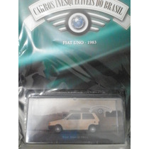 Miniatura Fiat Uno(1983)carros Inesqueciveis Do Brasil Ed23