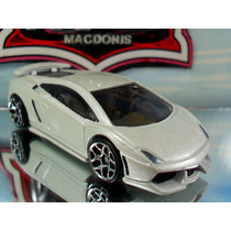 Hot Wheels Lamborghini Gallardo Superleggera Branco Perola