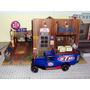 Diorama Service Ford Oil Stp Esc 1:18 Sob Encomenda