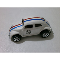 Hot Wheels Vw Beetle Herbie Custom By Fox. Escala 1/64.