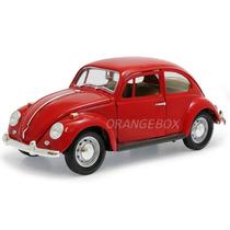 Volkswagen Fusca 1967 1:18 Yat Ming 92078-vermelho