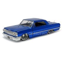 Chevy Impala 1963 1:24 Jada Toys 90375-azul
