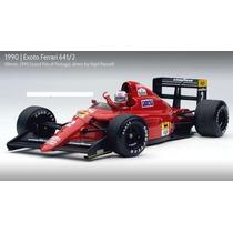 Miniatura Ferrari 641/2 Mansell F1 Gp Portugal Exoto 1/18