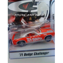 Hot Wheels G Machines `71 Dodge Challenger - Escala 1/50