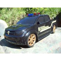 Viatura Policia Federal Hilux Escala Aprox 1:12