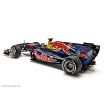 Minichamp 1/18 2010 Champion F1 Red Bull Racing, S Vettel