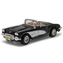 Chevrolet Corvette 1959 1:24 Motormax 73216-preto