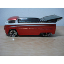 Customized Vw Drag Truck - Hot Wheels - Vermelha / Branca