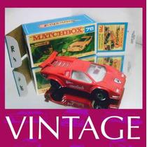 1985 Matchbox Lesney Lamborghini Contach Miniatura 1/64